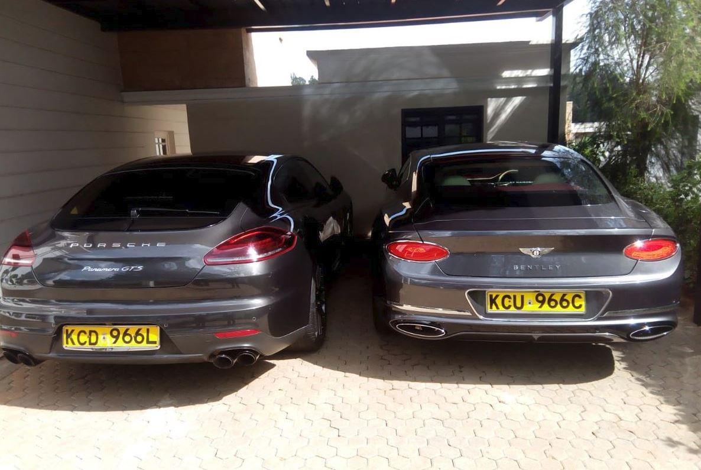 Jared Otieno cars