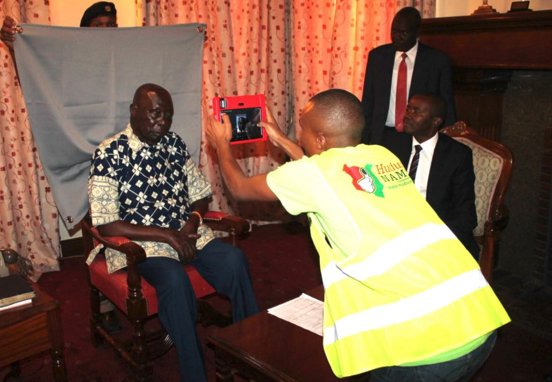 moi 1 - Moi Beats Deadline and Registers for Huduma Namba