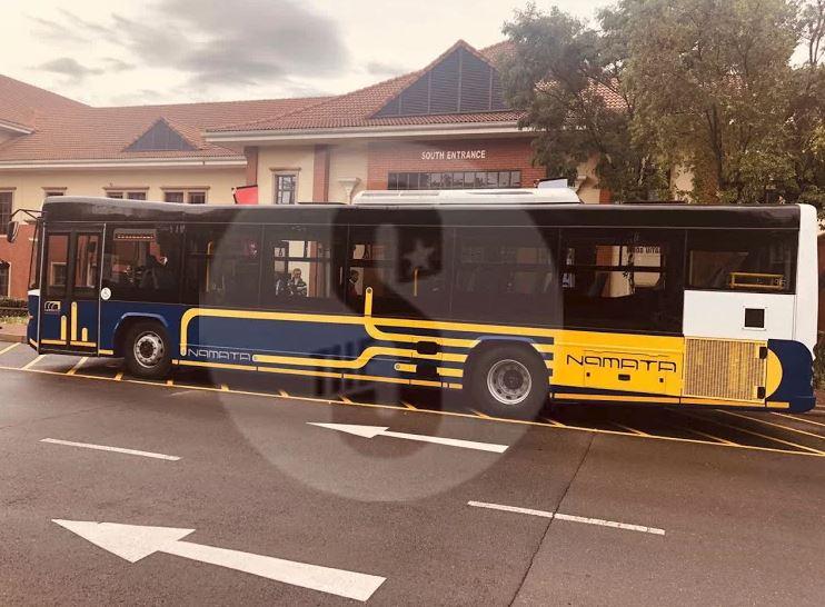 Nairobi BRT bus