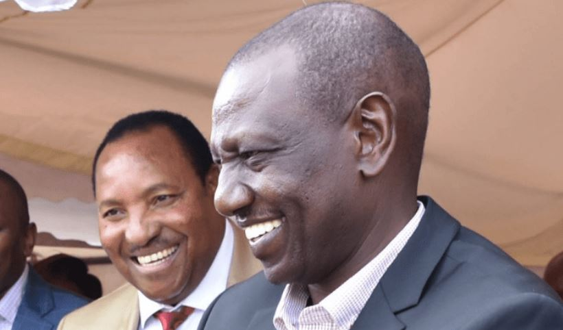 Image result for FERDINAND WAITITU AND WILLIAM RUTO