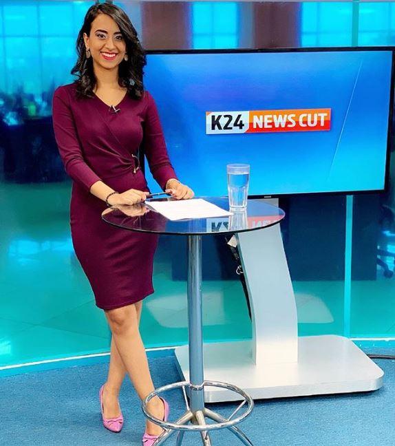 Sheng' Speaking K24 News Anchor Shiksha Arora Impresses Netizens [VIDEO]
