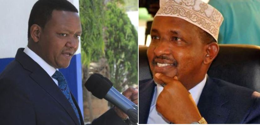 Why Governor Mutua Wants Duale Out of Counties Cash Mediation Talks
