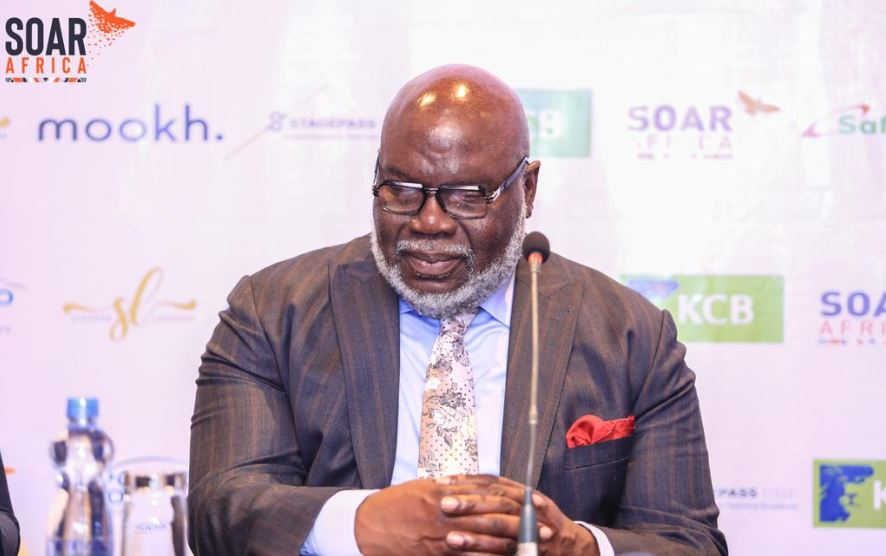 td jakes nairobi - Sh75,000 VVIP Tickets Sold Out for TD Jakes Summit in Nairobi