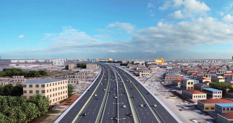 jk2 - PHOTOS of the Massive Sh65 Billion JKIA – Westlands Superhighway Commissioned Today