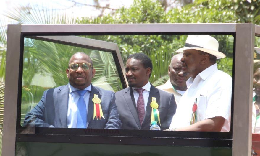 sonko - Sonko Splashes Sh1.5M on Cows, Buys One for Uhuru Kenyatta