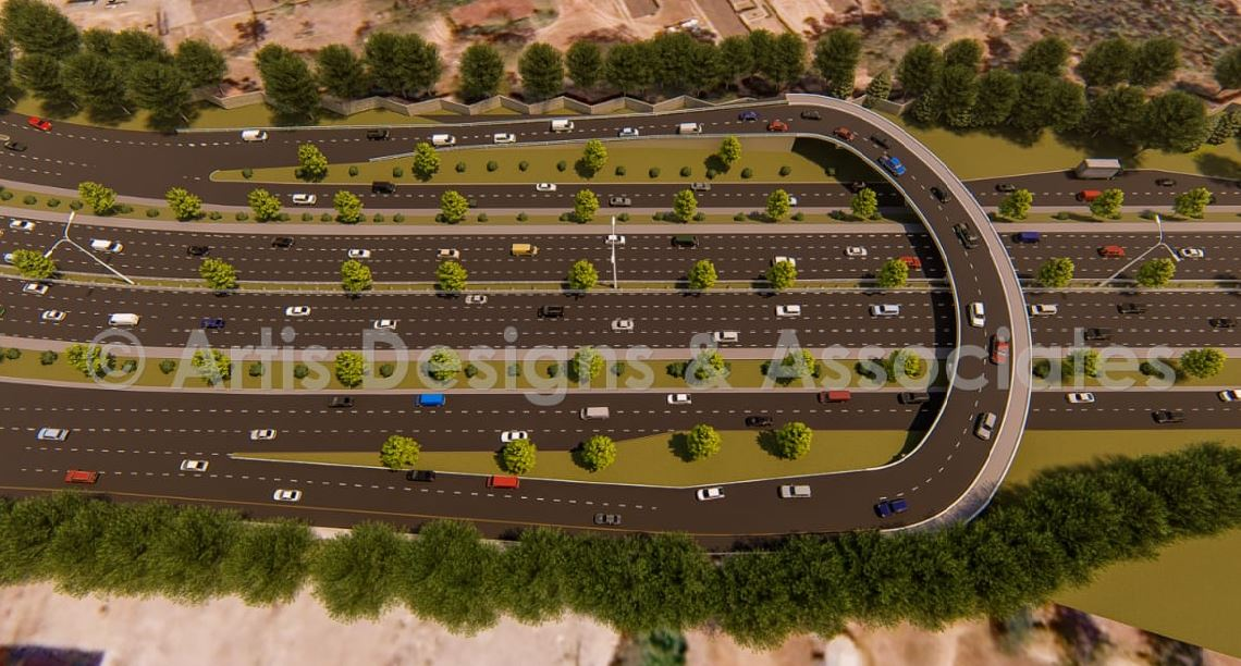 thika road 2 - PHOTOS – This is How the New Allsops Thika Road Flyover Will Look Upon Completion