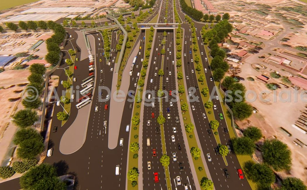 thika road 3 - PHOTOS – This is How the New Allsops Thika Road Flyover Will Look Upon Completion