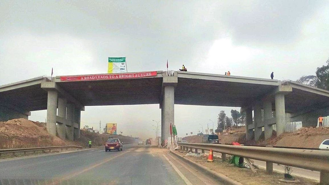 thika road - PHOTOS – This is How the New Allsops Thika Road Flyover Will Look Upon Completion