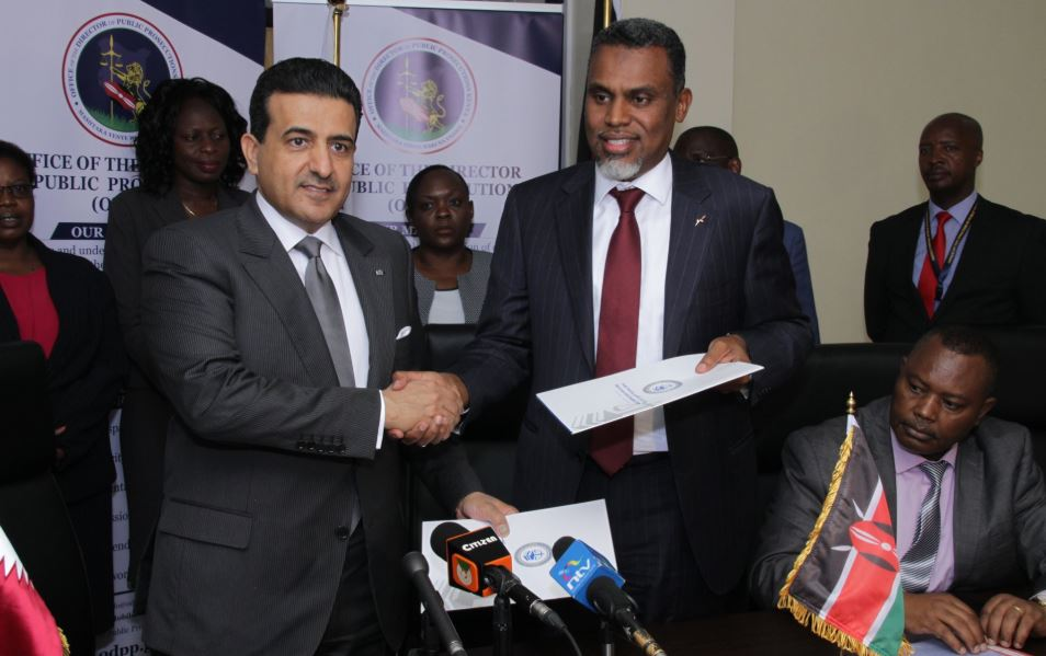 dpp3 - Boost for DPP Haji in Anti-Corruption War as Kenya, Qatar Ink Cross-border Deal