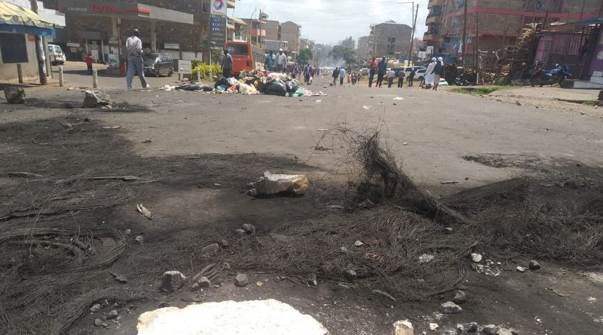 kasarani1 - Relief for Kasarani Dwellers as State Releases Sh300 M for Road Reconstruction, Matatu Operators Resume Operation