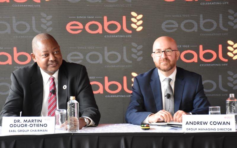 eabl - EABL Commits Sh50 Million Towards Manufacture of Free Sanitizers For Vulnerable Kenyans
