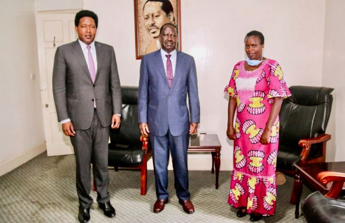 Raila 'Sanitises' Woman MP Who Likened Him to an Impotent Bull