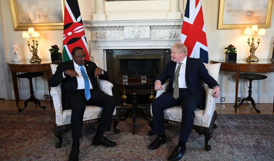 Uhuru and Boris Johnson Speak Ahead Of UK-Kenya Global Education Summit
