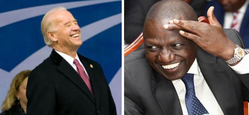 DP Ruto Uses President Biden to Vindicate his Hustler Movement