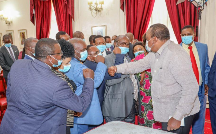 Let Us Unite For Kenya's Progress, President Kenyatta Urges Ukambani Leaders