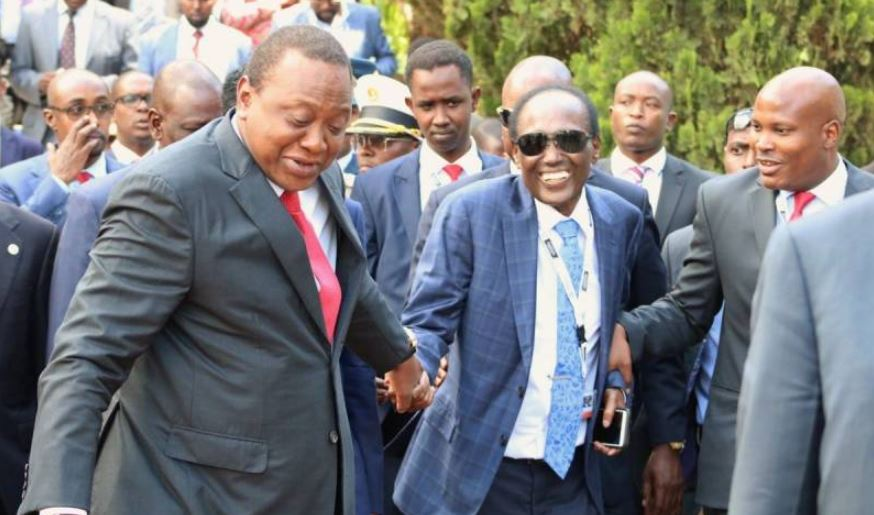 President Uhuru Mourns Chris Kirubi