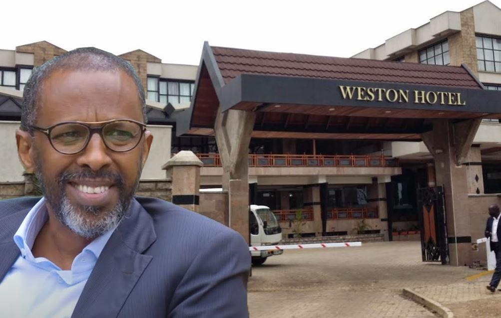 Weston hotel demolished