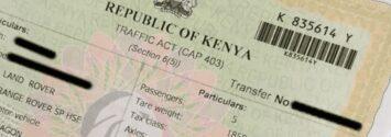 how to make a log book transfer in kenya 1